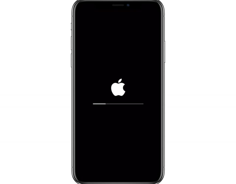 Even Apple's update screens are beautifully minimal.